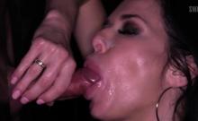 Hot Milf Bukkake And Facial Cum