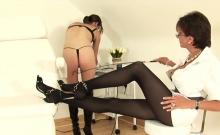 Unfaithful British Mature Gill Ellis Showcases Her Monster T