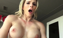 Mom helps with blowjob Cory Chase in Revenge On Your Father