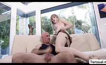 Tbabe Lena Kelly Rides Smiths Hard Cock In A Cowgirl Style
