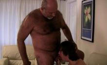 Hot Bear Rimjob With Cumshot
