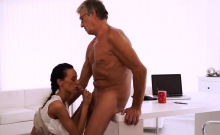 French daddy first time Finally she's got her manager dick