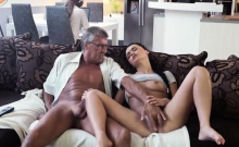 crony's daughter loves her daddy and old man fuck young russ
