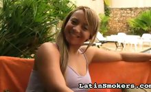 Full Figured Babe Makes Smoking So Sexy