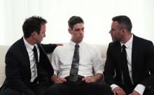 Mormonboyz - Two Hung Religious Men Fuck A Missionary Boy