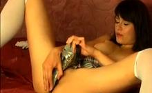 Amazing Czech Model Fucking Her High Heel Agaatta