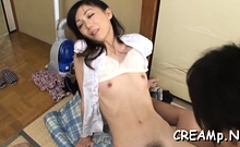 Appealing girlie Yui Natori exposes curves during sex
