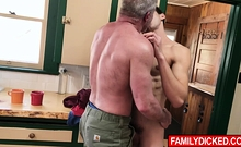 Son And Father Are Not Only Family But Lovers Too!