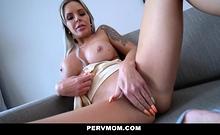 PervMom - Busty Stepmom Cheats With Big Dick Stepson