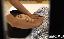 Carnal oriental milf plays hard with wang in show